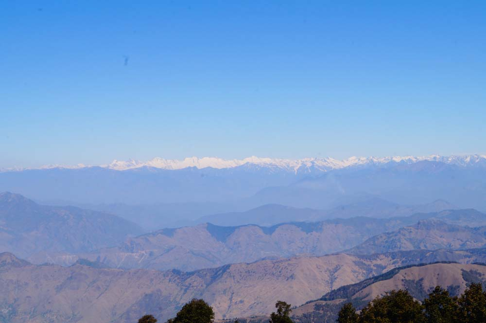 Mountains From Nag Tibba Summit