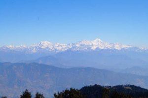 Utttarakhand Trip Trek:  Mountains View From Nag Tibba Summit
