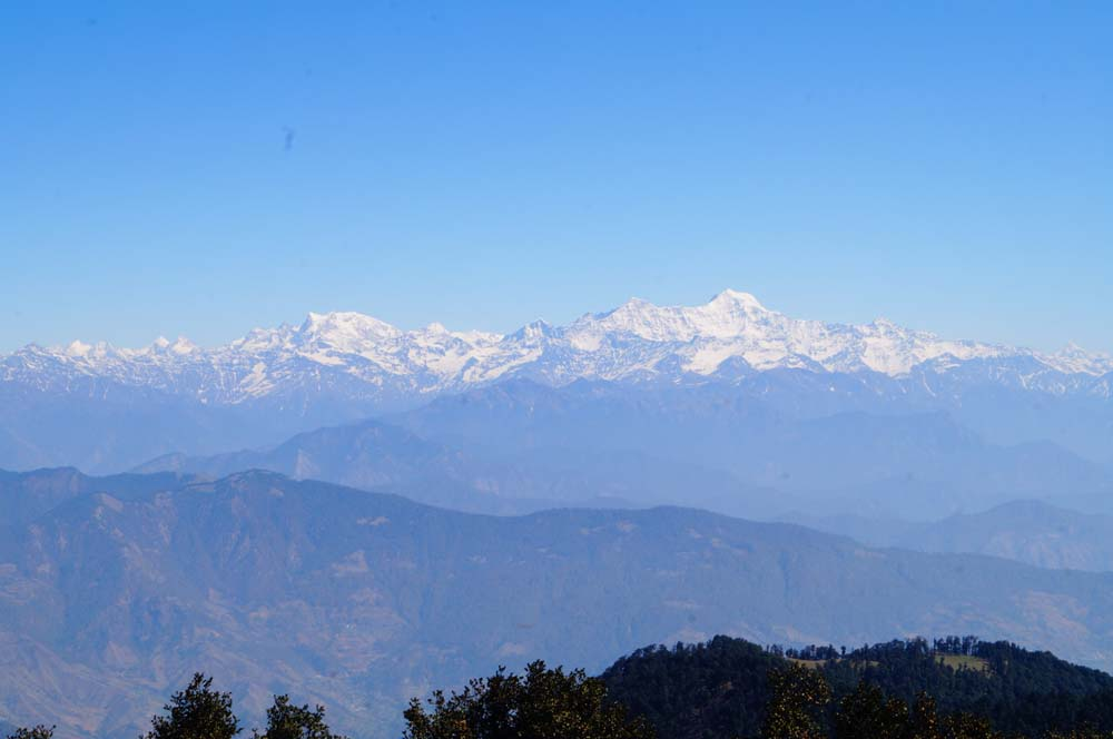 Mountains View From Nag Tibba Summit