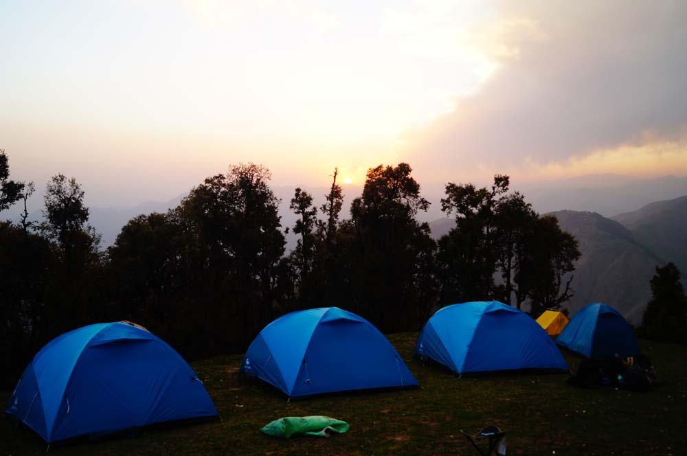 Nag Tibba Base Camp Tents