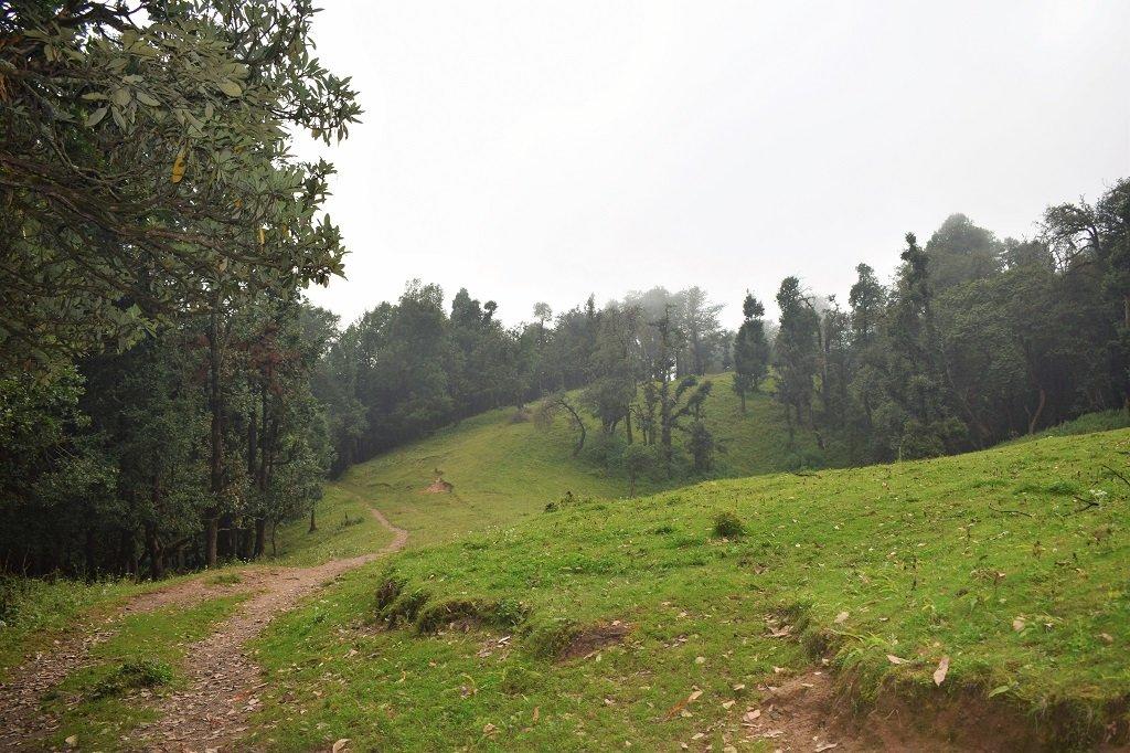 Route of nag tibba trek