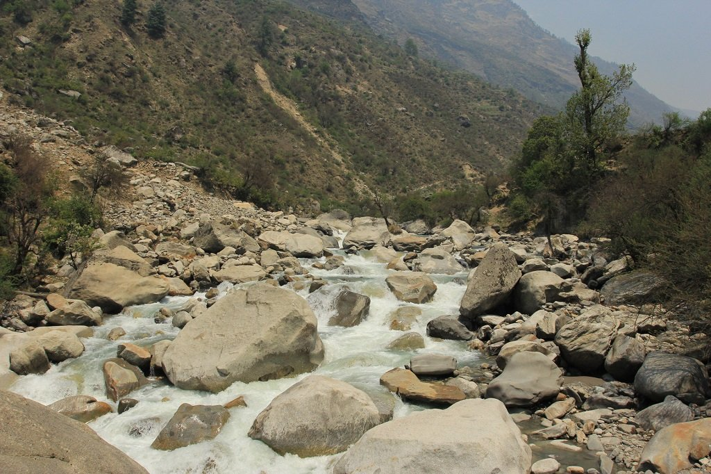 Thamsa River at har ki dun trek