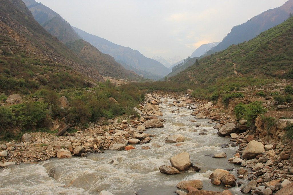Thamsa River at valley of flower