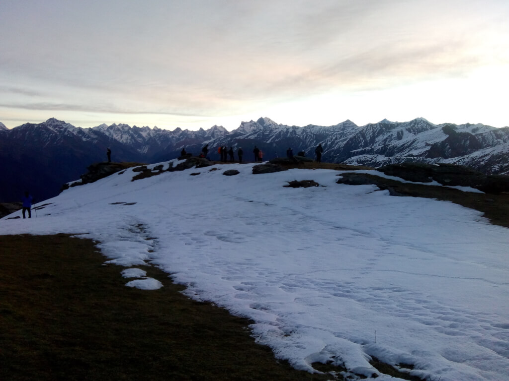 Majestic View of Himalayas