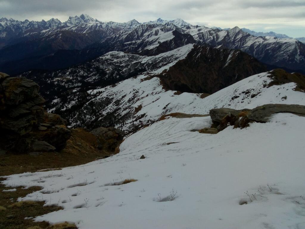 Majistive view of himalaya