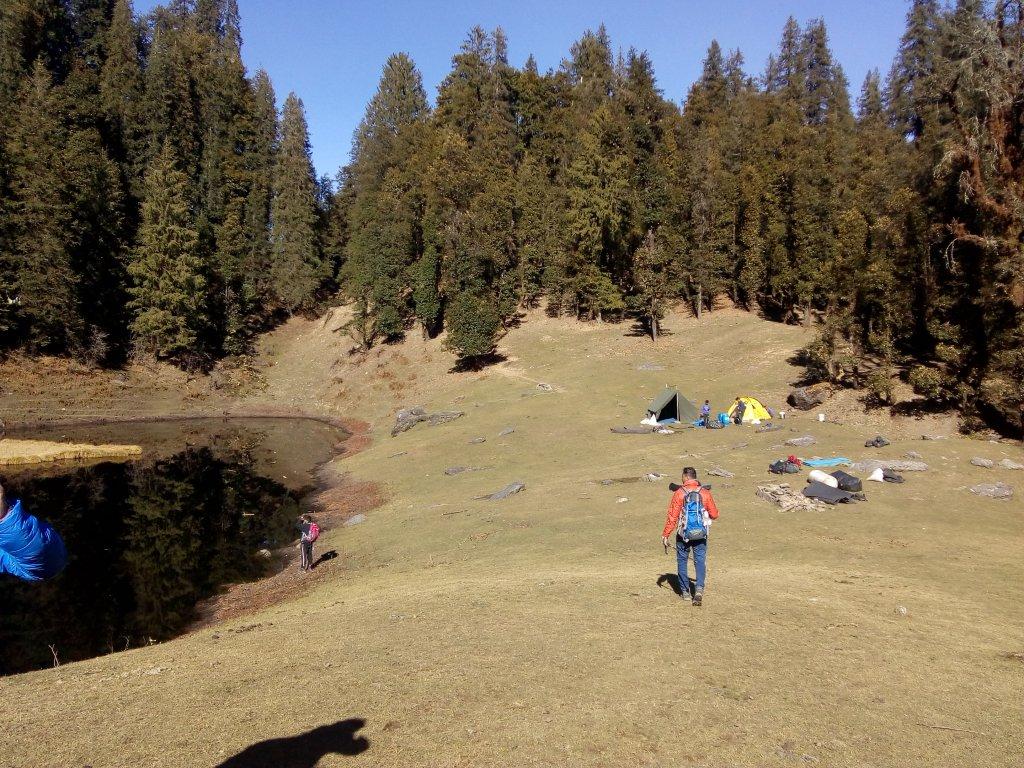 Trekking to juda ka talab to kedearkantha base camp