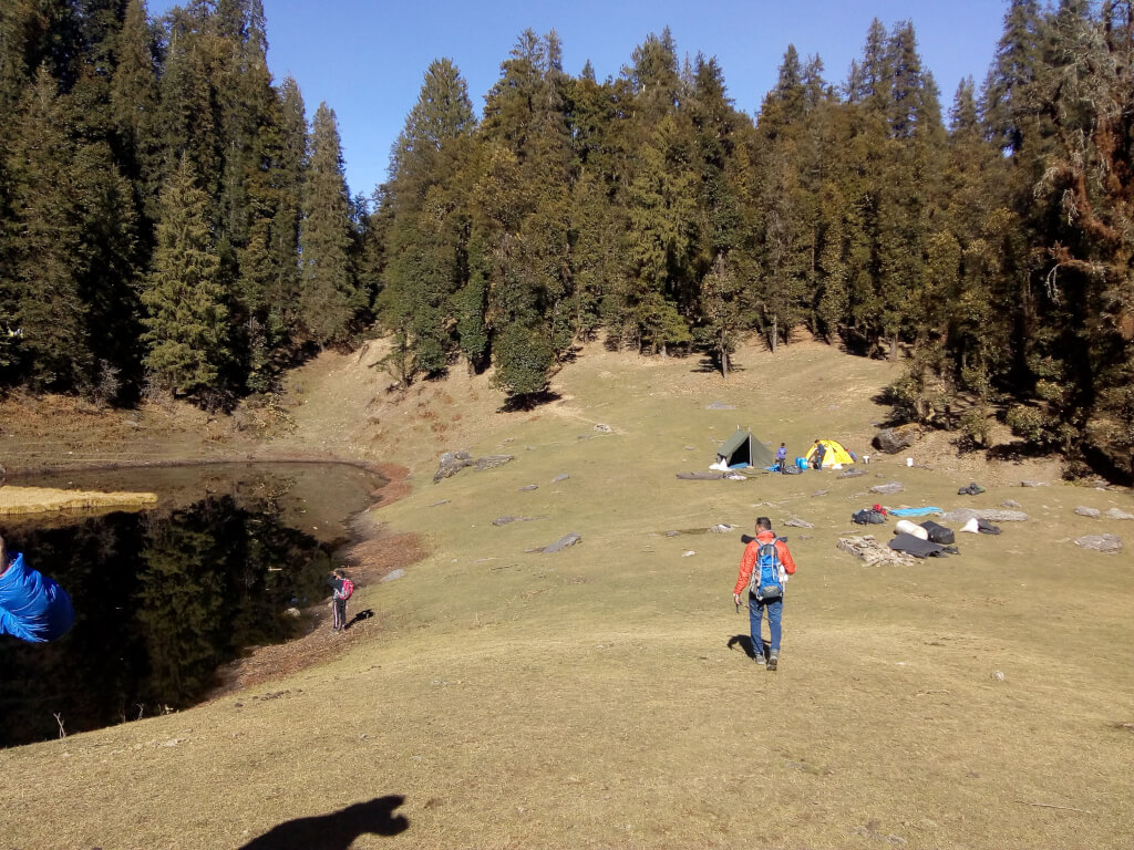 Trekking to juda ka talab to kedearkantha base camp