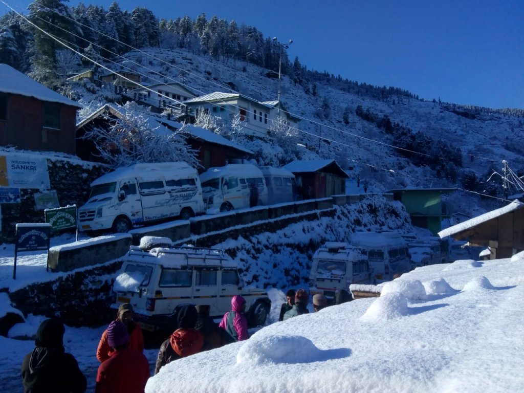 Base camp sankri (Kedarkantha trek and Har ki dun Trek