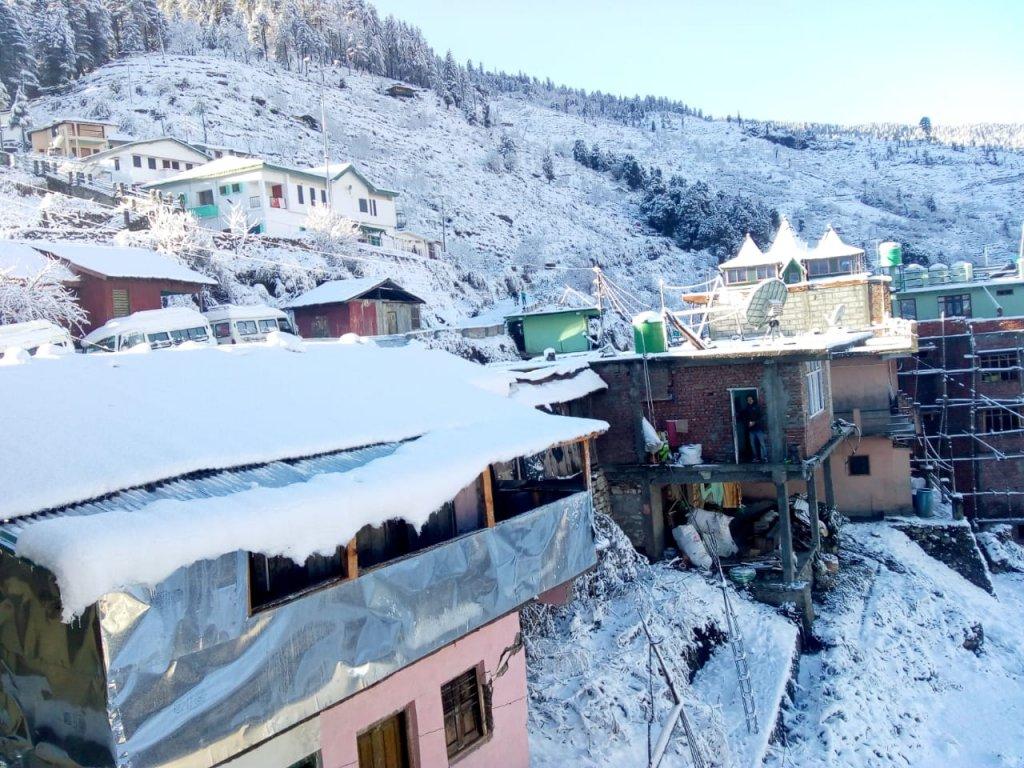 Sankri village ( Kedarkantha trek har ki dun trek Base camp)