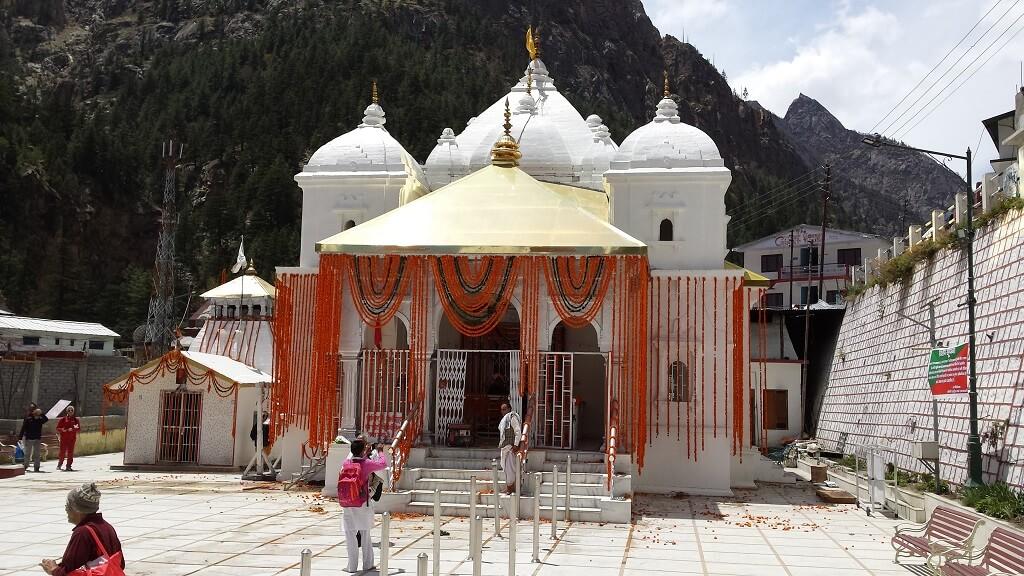 Char Dham Yatra : Gangotri Temple  (Char Dham Yatra)