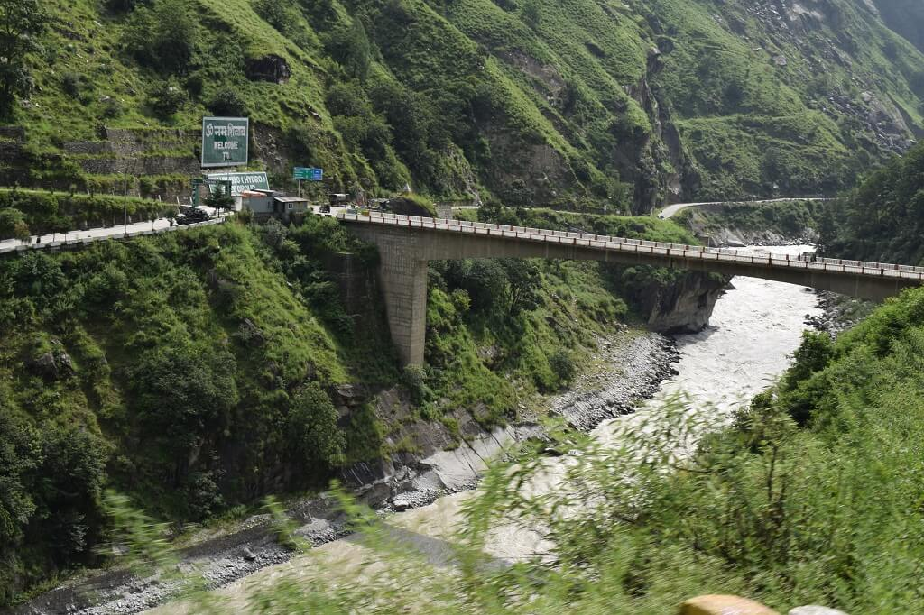 Char Dham Yatra : Badrinath National Highway, Vishnu Prayag