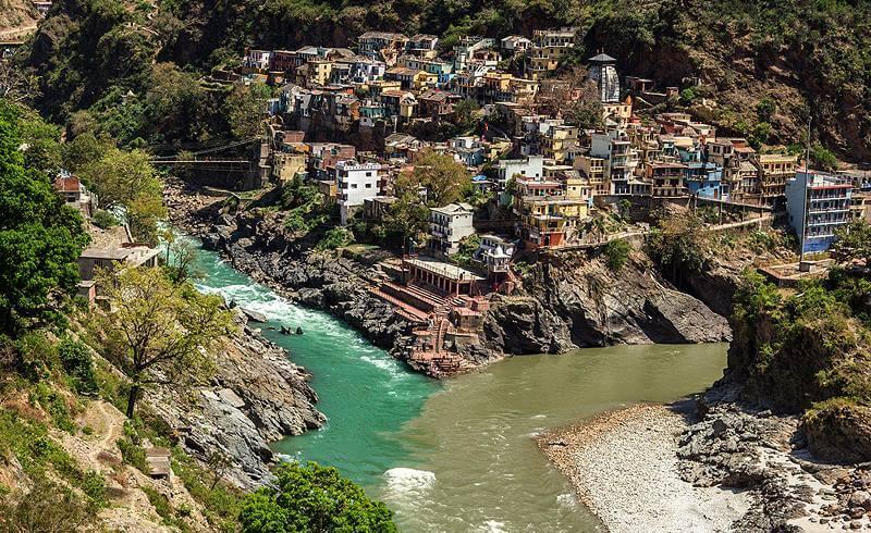 Char Dham Yatra : Ganga at Devprayag