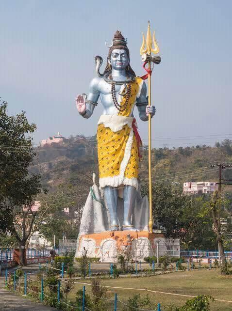 Char Dham Yatra : Shiv Murti In Haridwar