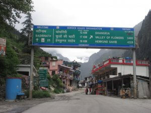 Utttarakhand Trip Trek:  starting point of valley of flowers trek