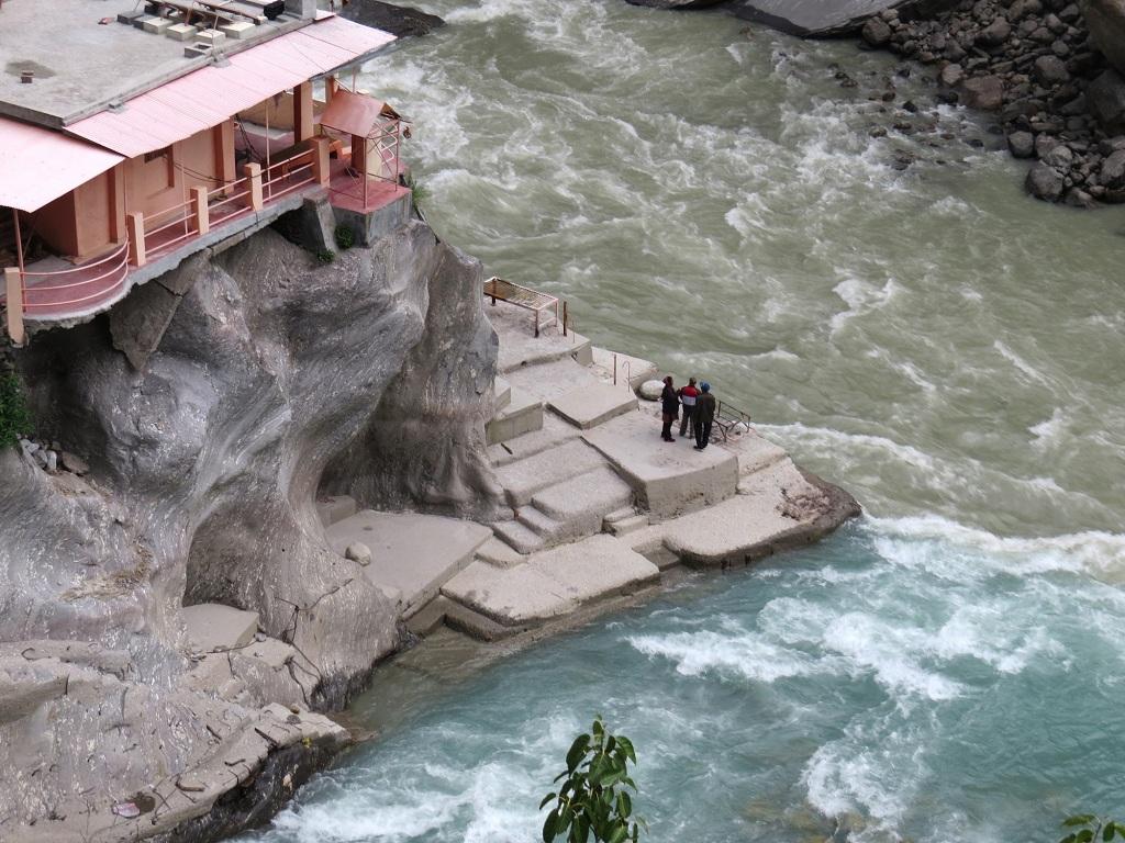 Vishnuprayag, uttarakhand alakanda and dhauliganga river
