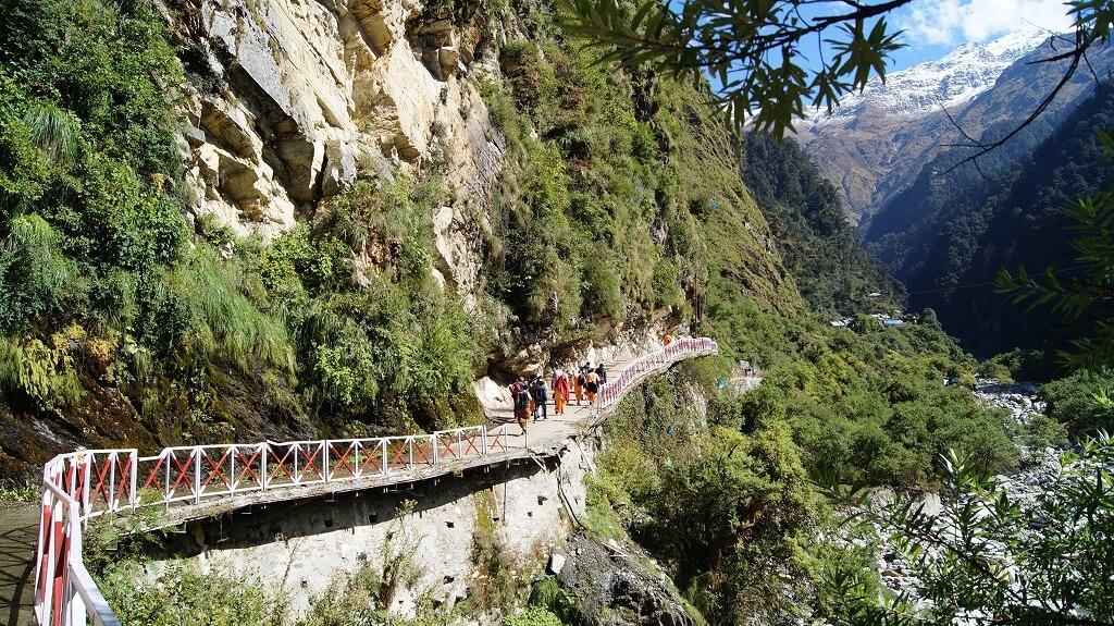 Char Dham Yatra : Yamunotri Trekking route