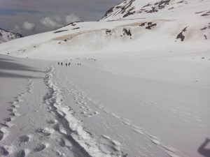 Utttarakhand Trip Trek:  Upper Waterfall to Rupin Pass Summit