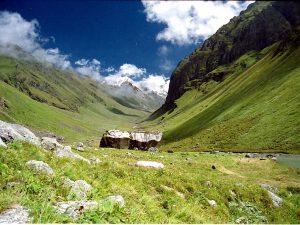 Utttarakhand Trip Trek:  en route of borashu pass trek