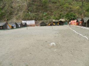 Utttarakhand Trip Trek:  Beach Volley ball in Rishikesh
