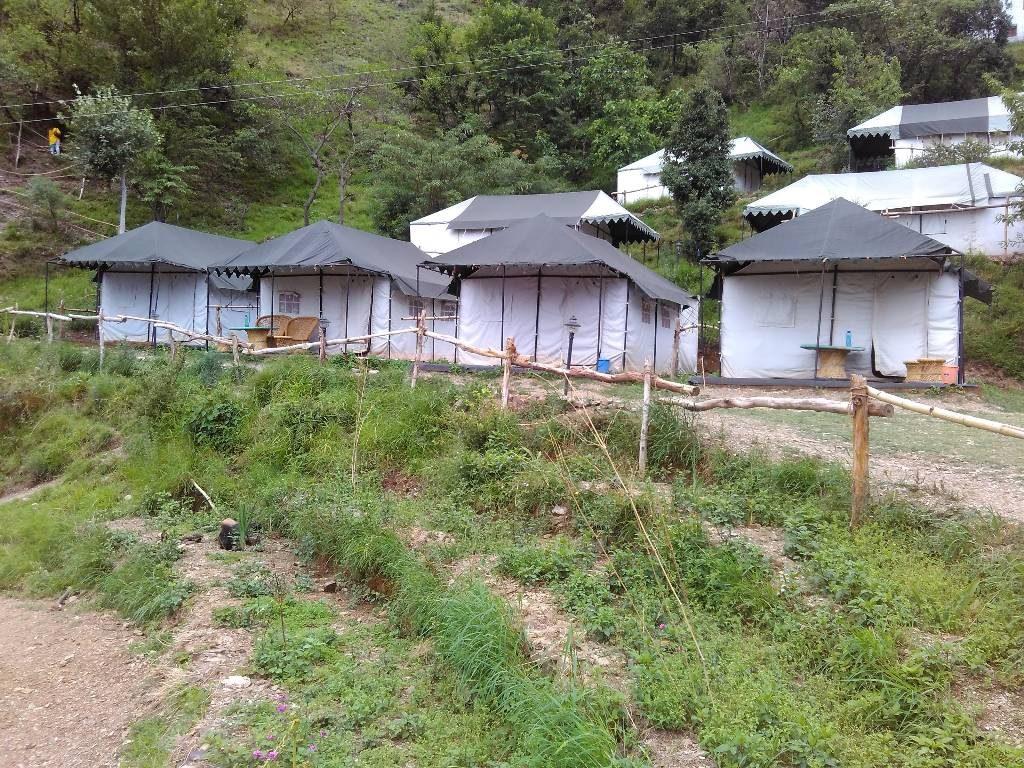 Camping in pangot
