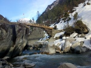 Utttarakhand Trip Trek:  Supin river at har ki dun trek,