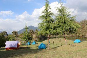 Utttarakhand Trip Trek:  UTT Campsite near deoria tal, Uttarakhand