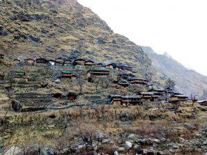Utttarakhand Trip Trek:  Village en route of har ki dun trek, Uttarakhand