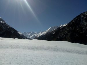 Utttarakhand Trip Trek:  black peak view from har ki dun valley