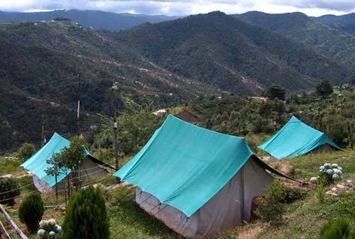 mukteshwar camping