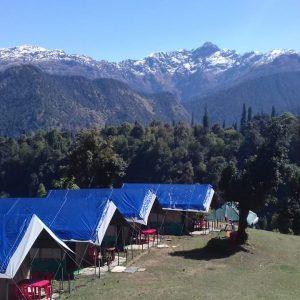 Utttarakhand Trip Trek:  chopta campsite