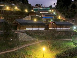 Utttarakhand Trip Trek:  Camp in Kanatal