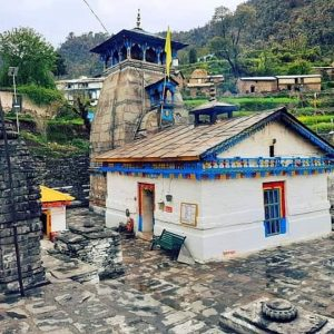Utttarakhand Trip Trek:  temple on chopta