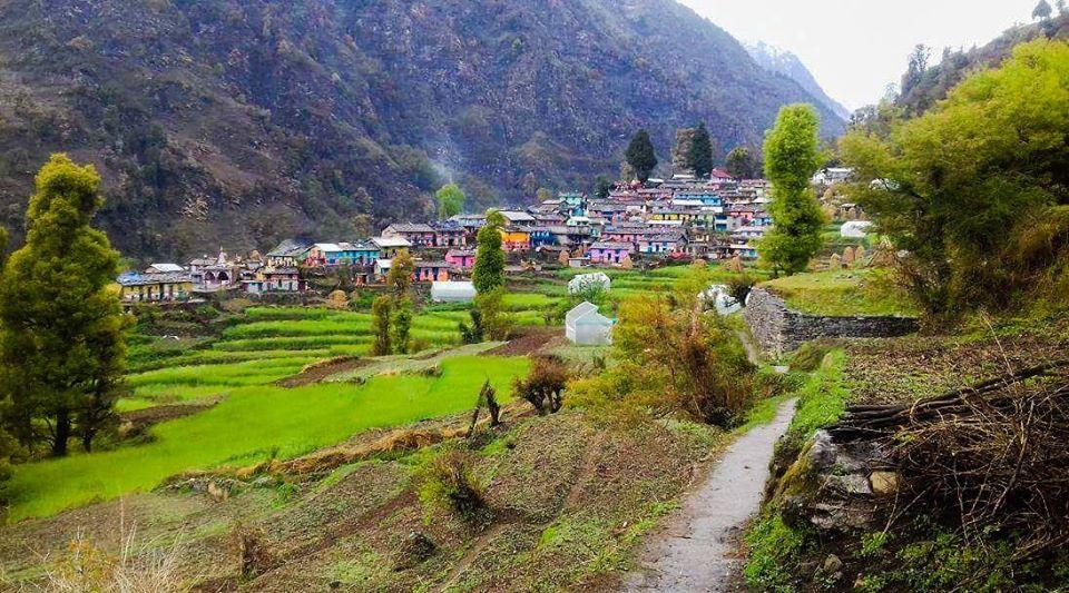 Khati Village Last Inhabited Village On Pindari Glacier Trek