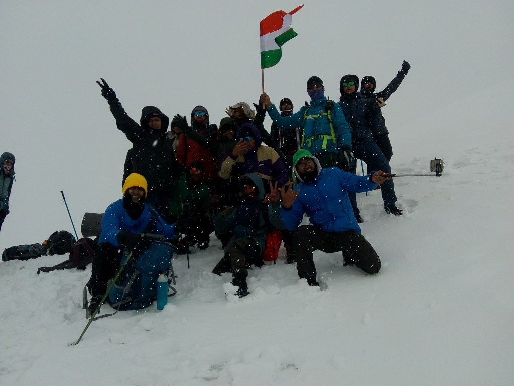 RUPIN PASS TREK SUMMIT JUNE 2019