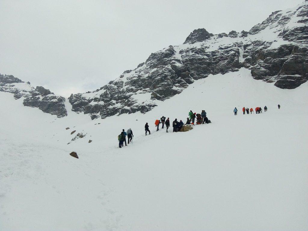 beautiful view of rupin pass trek