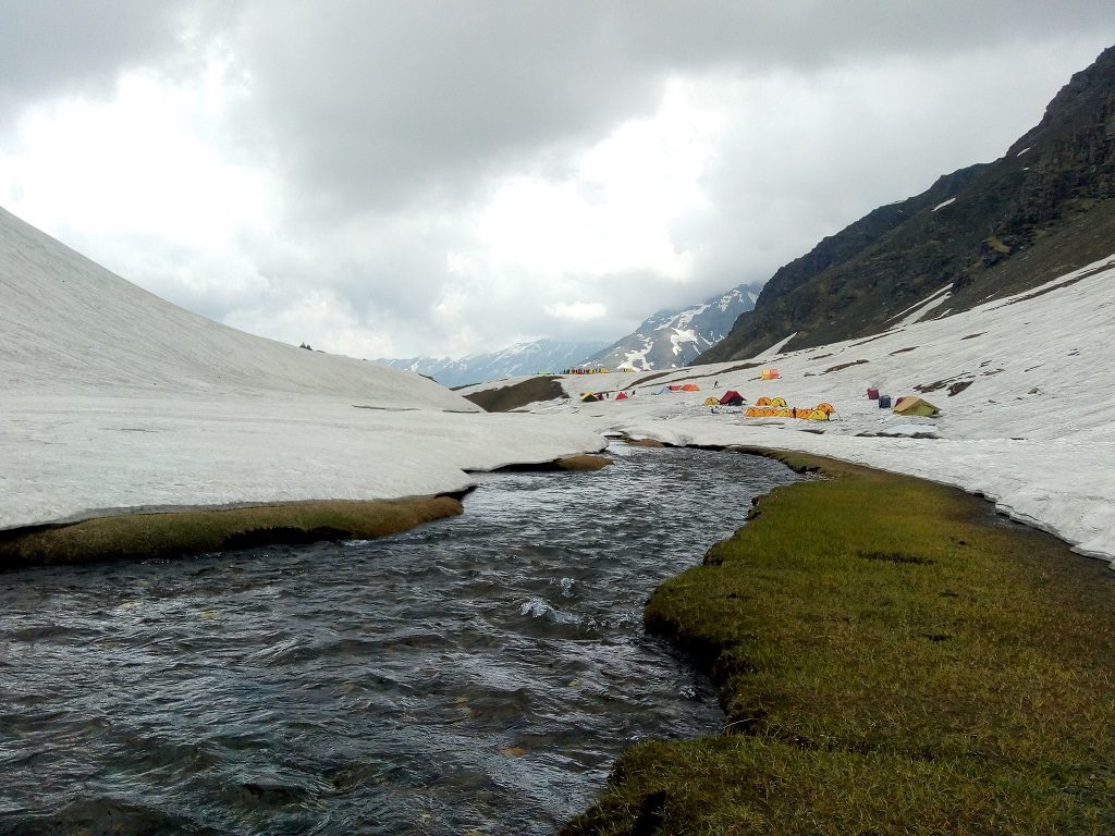 river side at rupin pass