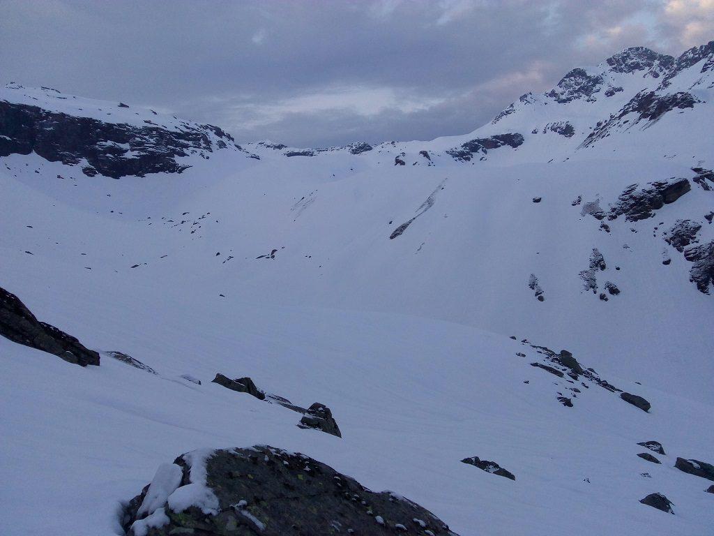 rupin pass perfect snow trek