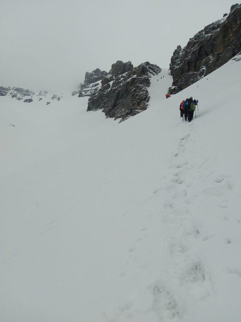 rupin pass snow trek rupin