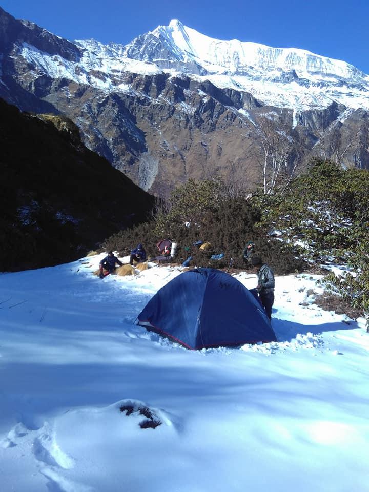 snow trek sunderdunga