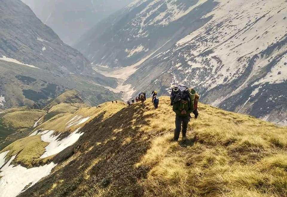 sunderdunga trek view