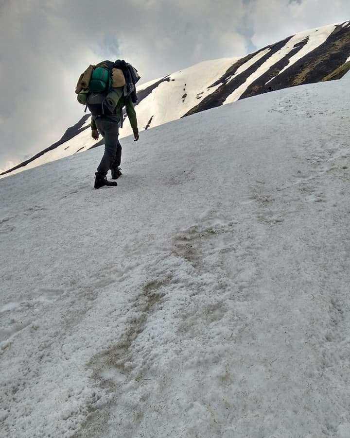 trek to sunderdunga snow trek