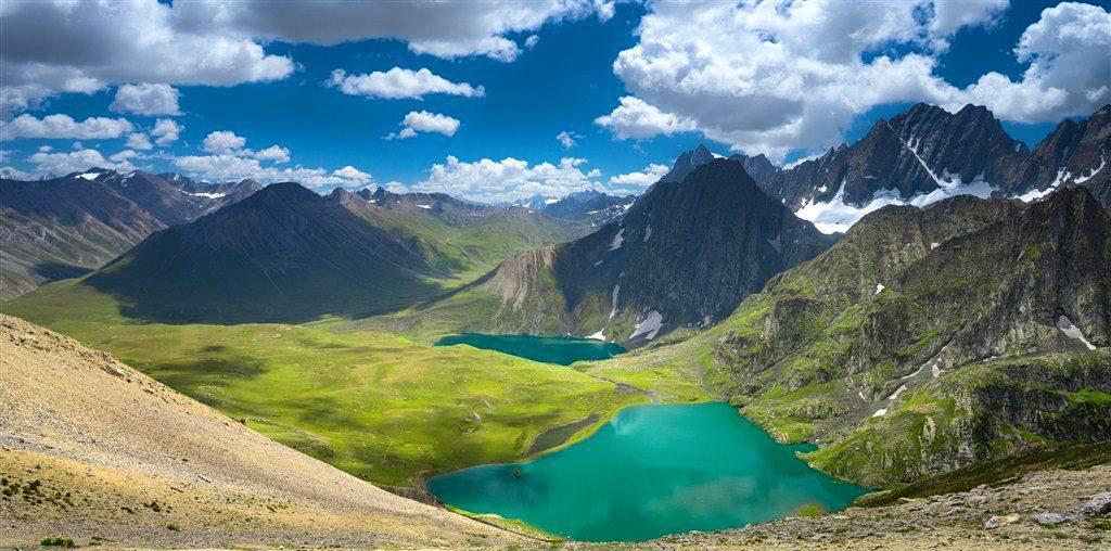 Great lake of kashmir