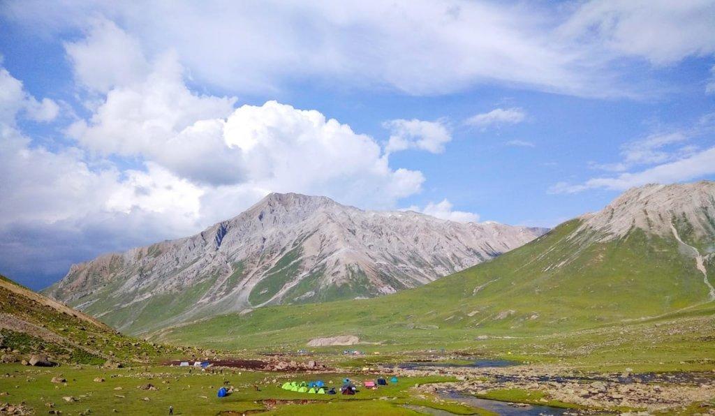 kashmir great lake campsite