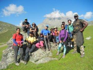 Utttarakhand Trip Trek:  kashmir great lake from Sonmarg to narnag